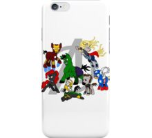 The Avengers Pony Club iPhone Case/Skin