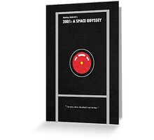 2001 A Space Odyssey Greeting Card