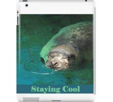 Staying Cool iPad Case/Skin