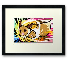 Eevee | Double-Edge Framed Print