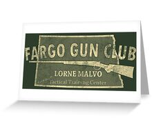 Fargo Gun Club Greeting Card