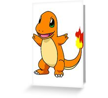 Charmander Greeting Card