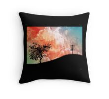 Basket On A Hill Throw Pillow