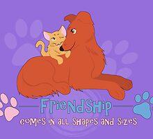 Friendship by thekohakudragon