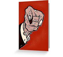Zombiecracy Greeting Card