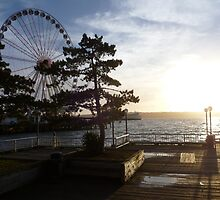 """Pier"" into Seattle by LORD-BYRON"