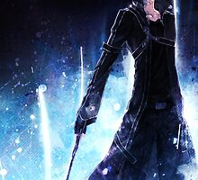 Sword Art Online - Kirito Kazuto - Poster by nekyobot