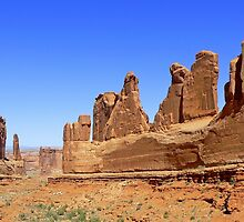 Park Avenue in the Arches by Graeme  Hyde