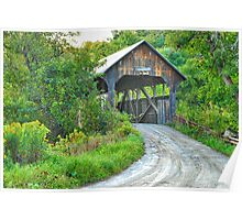 Coburn Covered Bridge Poster