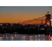 Suspension Bridge Photographic Print