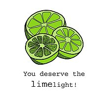 You Deserve The Limelight by tosojourn