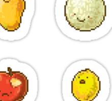 Pixel Fruits Set 2 Sticker