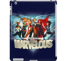 Born to be Marvelous iPad Case/Skin