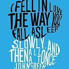 TFIOS - Love like Sleep by saycheese14