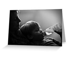 The Quiet Moments Greeting Card