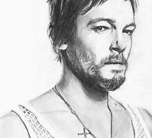 Daryl Dixon by bellepickering
