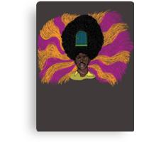 The Mighty Boosh - Rudi van DiSarzio - Rudy - Psychedelic Monk Canvas Print