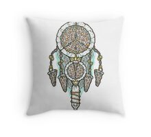 Dream of a Pizza Catcher Throw Pillow