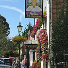 The Kings Head, The Square, Wickham, southern England by Philip Mitchell
