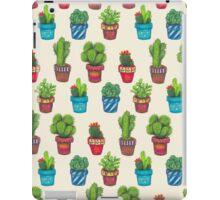 Cactus Pot Plant Garden iPad Case/Skin