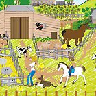 In the Farm Yard by Diana-Lee Saville