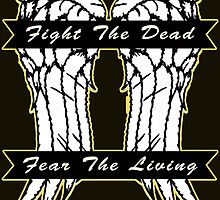 Fight the Dead, Fear the Living - Daryl Dixon by Mellark90