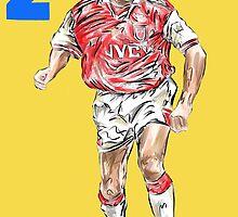 Lee Dixon by ArsenalArtz