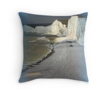 England's Seven Sisters Throw Pillow