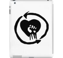 Rise Against Heart Fist Clean Look iPad Case/Skin