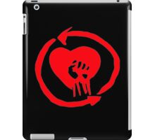 Rise Against Heart Fist Clean Look Red iPad Case/Skin
