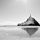 Mont St Michel by SandrineBoutry