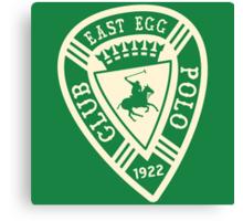 East Egg Polo Club Canvas Print