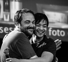 Mark Sheppard and Osric Chau // Jus In Bello 5, 2014 by stardustphoto