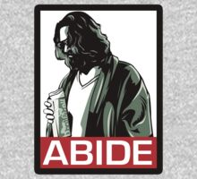 Jeff lebowski - Abide (the big lebowski) by howardhbaugh