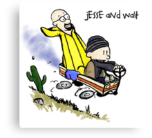 Jesse and Walt Canvas Print