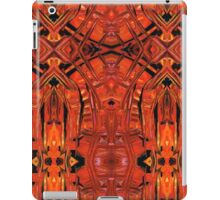 Red Abstract Art - Warm Garden 2 - By Sharon Cummings iPad Case/Skin