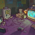 Gamers Gonna Game by nate-bear