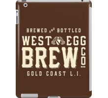 West Egg Brewery iPad Case/Skin