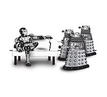 Tony Stark and Pepper Pots Photographic Print