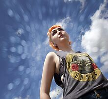 Pixie Dean - under a blue sky by David Tovey