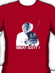 Back to the future - Great Scott ! T-Shirt