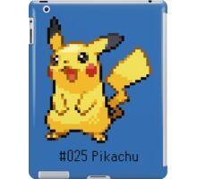 Pokedex: Pikachu (#025) iPad Case/Skin