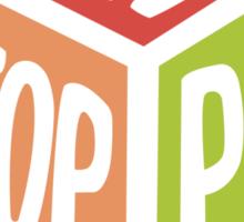 Non Stop Pop  Sticker