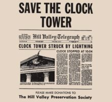 Back to the future - Save the clock tower ! by wildmartin