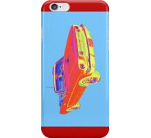 1965 Ford Mustang Convertible Pop Image iPhone Case/Skin