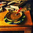 Solitary Supper by RC deWinter