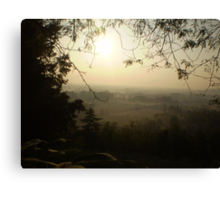 Misty Morning in Vicenza Canvas Print