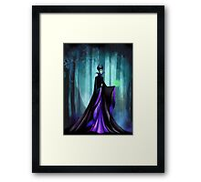 Maleficent (Sleeping Beauty Evil Queen) Framed Print