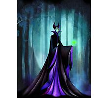 Maleficent (Sleeping Beauty Evil Queen) Photographic Print