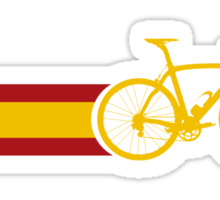 Bike Stripes Spanish National Road Race Sticker